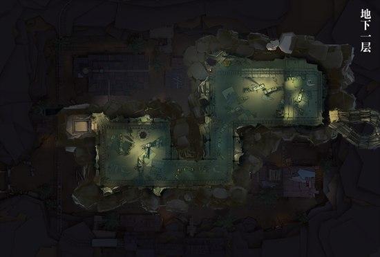 第五人格闪金矿场地图全景图 闪金矿场地图平面图
