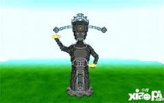 我的世界财神爷雕塑教程 财神爷雕塑怎么做