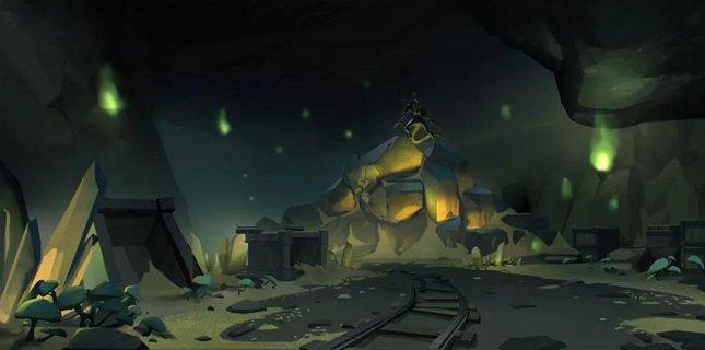 第五人格新地图闪金石窟来袭 被掩埋的财富之地