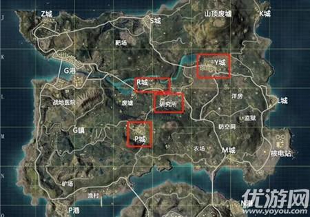 和平精英元宵空投箱空投地图位置介绍