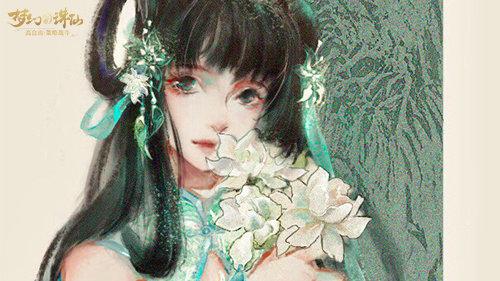 梦幻新诛仙玩家绘制碧瑶 灵动又有爱