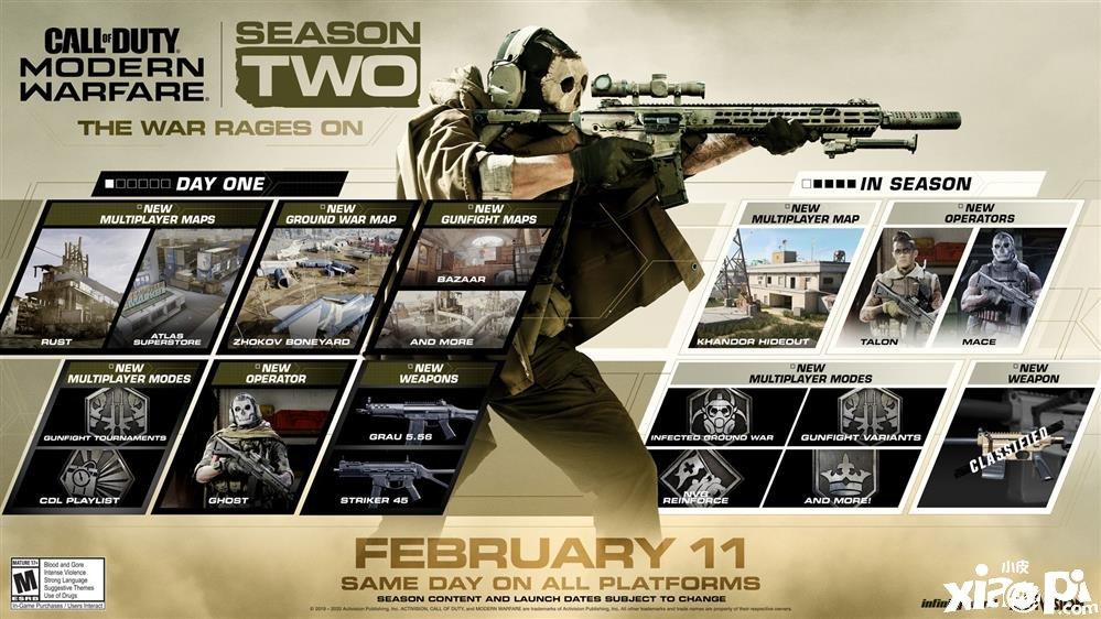 《使命召唤:现代战争》第二赛季预告片公布 经典角色回归