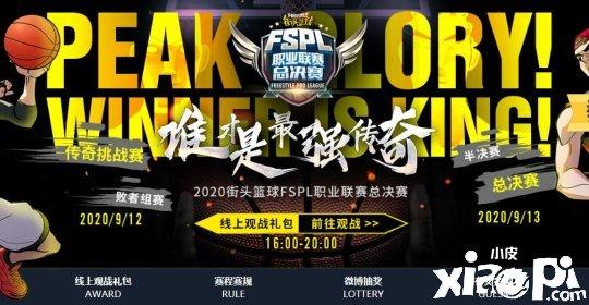 2020《街头篮球》FSPL职业联赛总决赛正式开战!