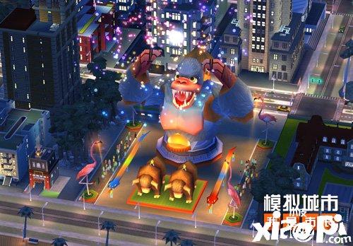 《模拟城市:我是市长》让雪人萌友入住城市