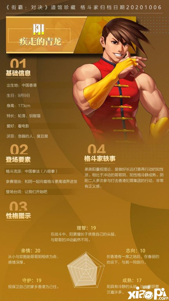 街霸:对决阳格斗家介绍