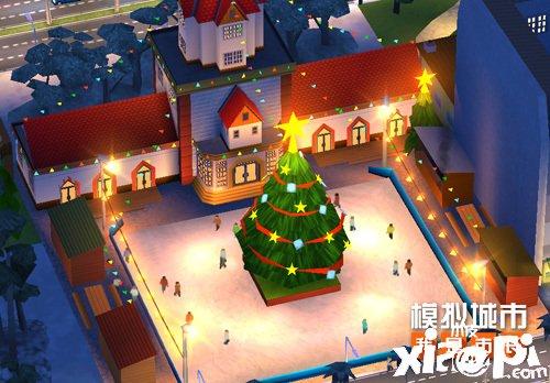 《模拟城市:我是市长》冬季运动主题建筑闪亮登场