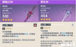《原神》手游腐殖之剑强度测评