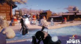 《剑网3》堆雪人滚雪球活动