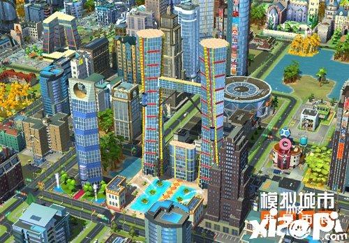 《模拟城市:我是市长》摩天都市建筑闪亮登场