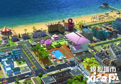 《模拟城市:我是市长》烂漫花季版本登陆苹果AppStore