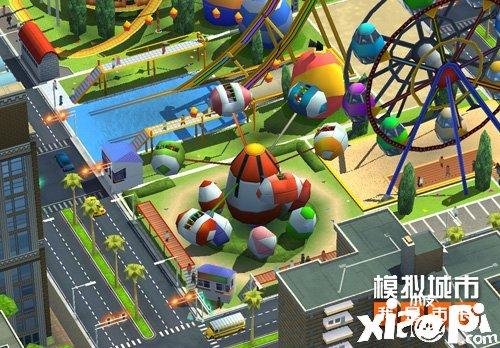《模拟城市:我是市长》建造绚丽的卡通乐园