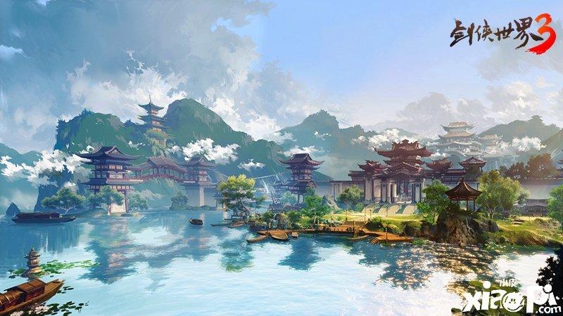 《剑侠世界3》艺术级武侠,畅享唯美景致