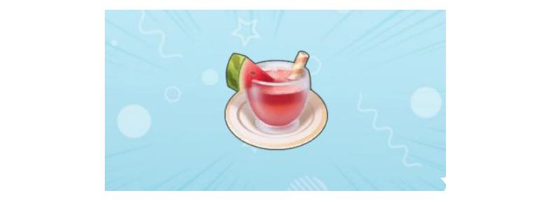 摩尔庄园 夏日解暑冲饮的配方我们怎么买到